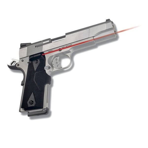 Crimson Trace 1911 Govt/ Commander Wrap Front Activation Laser Grip
