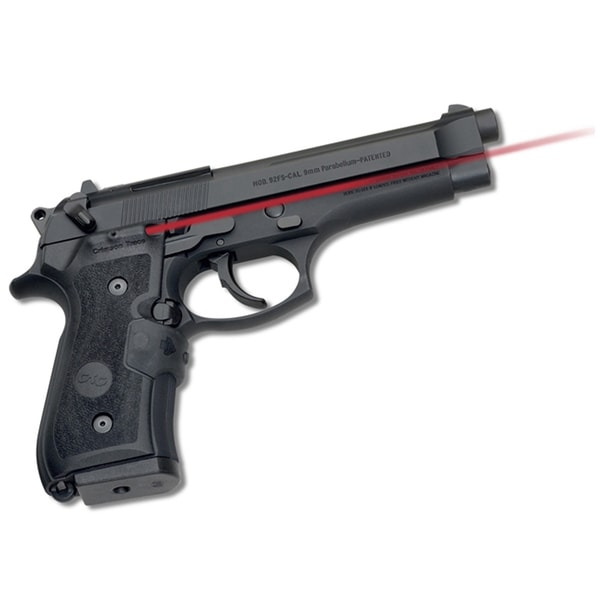 Crimson Trace Beretta 92/96 MILSPEC Wrap Front Activation Laser Grip