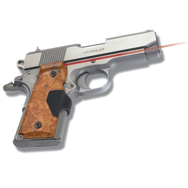 Crimson Trace 1911 Officer Defender Pro Front Activation Laser Grip