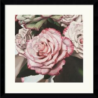 Elizabeth Hellman 'Vintage Rose' Framed Art Print
