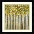 Libby Smart 'Different Shades of Green' Framed Art Print