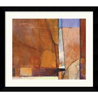 Tony Saladino 'Canyon I' Framed Art Print