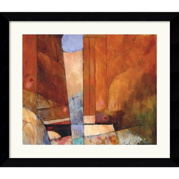 Tony Saladino 'Canyon II' Framed Art Print