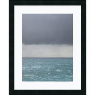 Brian Leighton 'Bleu 8' Framed Art Print