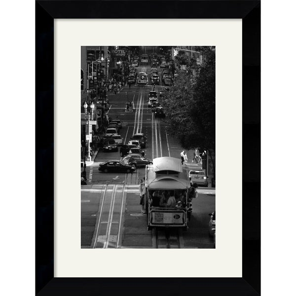 Sabri Irmak 'Streets of San Francisco' Framed Art Print