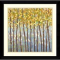 Libby Smart 'Glistening Tree Tops' Framed Art Print