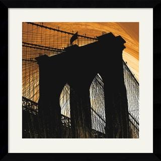 Erin Clark 'Brooklyn Glow' Framed Art Print