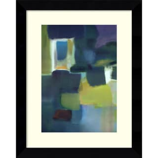 Nancy Ortenstone 'Entering The Poem' Framed Art Print