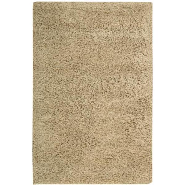 Nourison Hand-tufted Gold Coral Reef Rug (5' x 8')