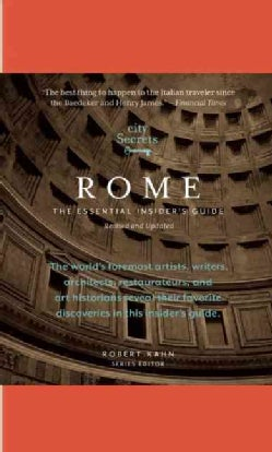 City Secrets Rome: The Essential Insider's Guide (Hardcover)
