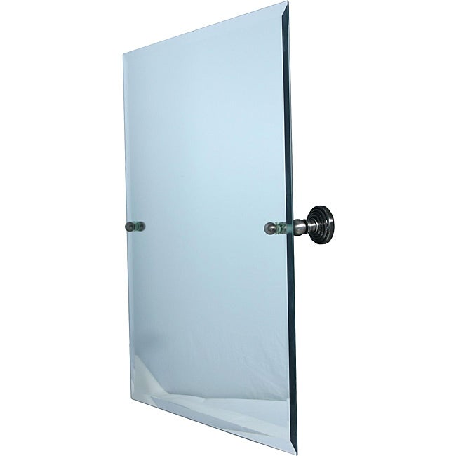 Rectangular Tilt Frameless Bathroom Mirror with
