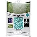 Sizzix Textured Impressions 'Christmas #3' Embossing Folders (Pack of 2)