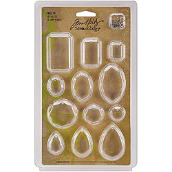Tim Holtz Idea-Ology Facets (Pack of 12)