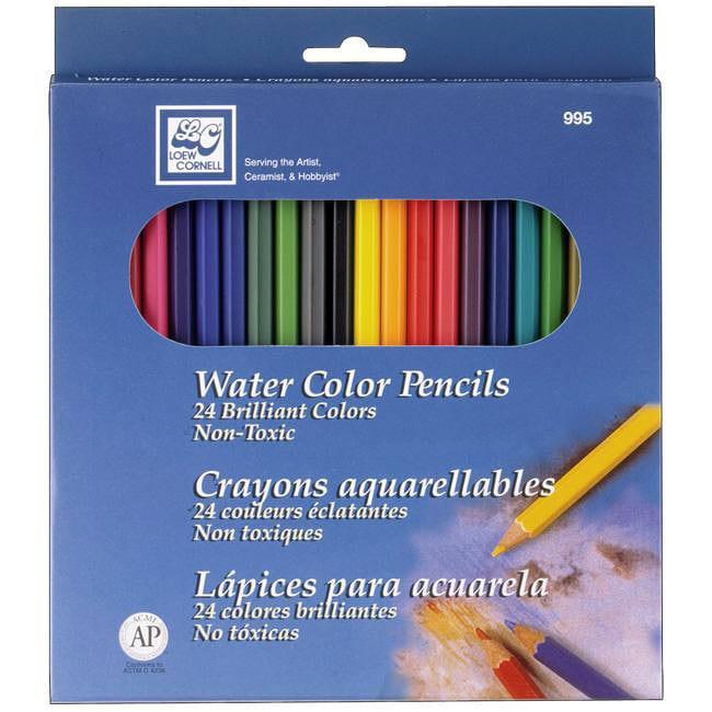 Watercolor Pencils (Pack of 24)