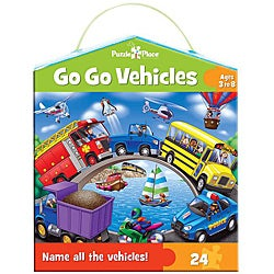 'Go Go Vehicles' 24-piece Jigsaw Puzzle