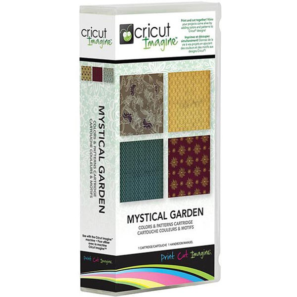 Cricut Imagine Mystical Garden Pattern Cartridge