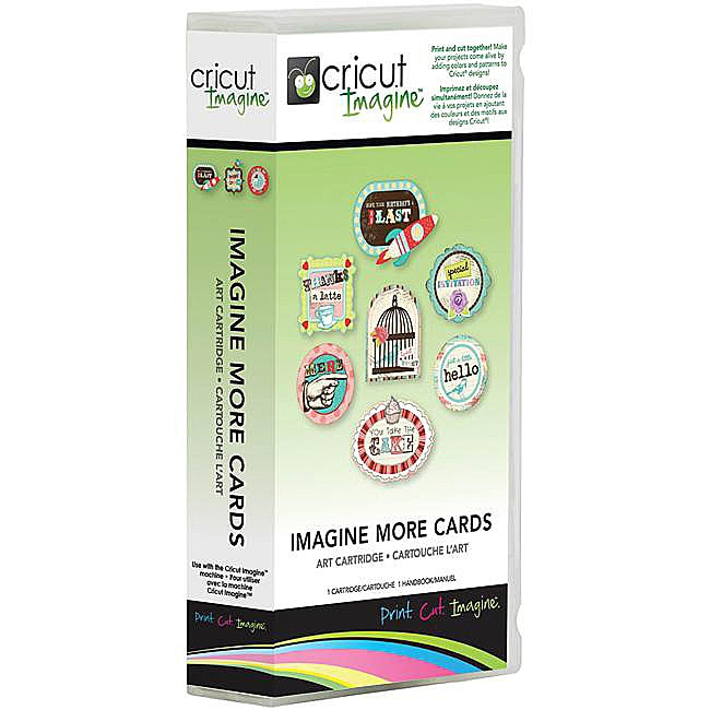 Cricut Imagine 'Imagine More Cards' Full Art Cartridge
