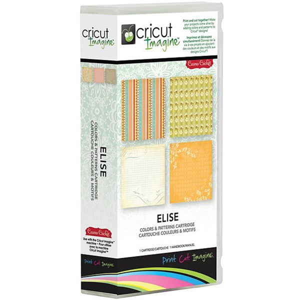 Cricut Imagine Elise Pattern Cartridge