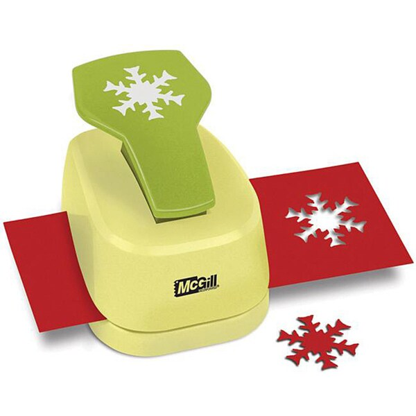 Paper Blossoms 'Alpine Snowflake' Lever Punch