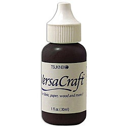 Tsukineko VersaCraft Real Black Ink Refill