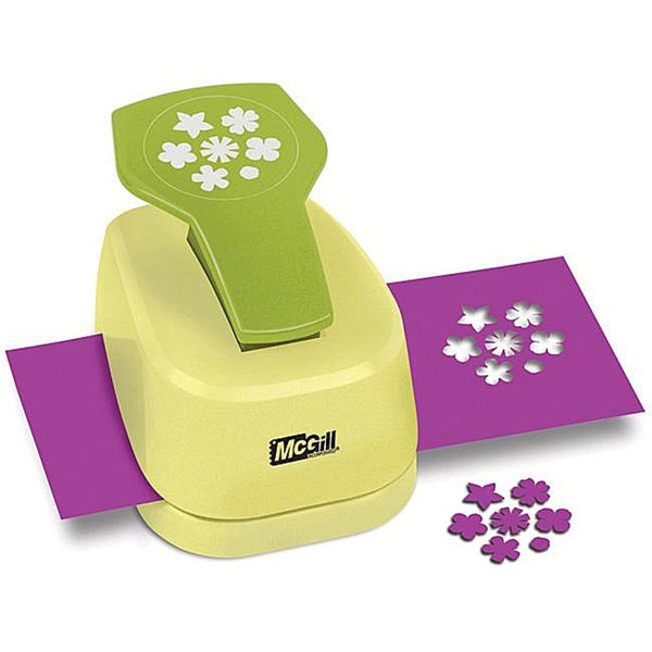 McGill Mini Petals Paper Blossoms Lever Punch