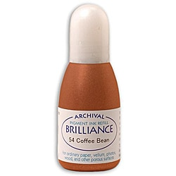 Brilliance Coffee Bean Archival Pigment Ink 0.7-oz Refill