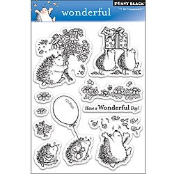 Penny 'Wonderful' Clear Stamps