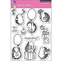 Penny 'Party Time' Clear Stamps