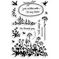 Stampendous 'Wildflower Sprigs' Clear Stamps