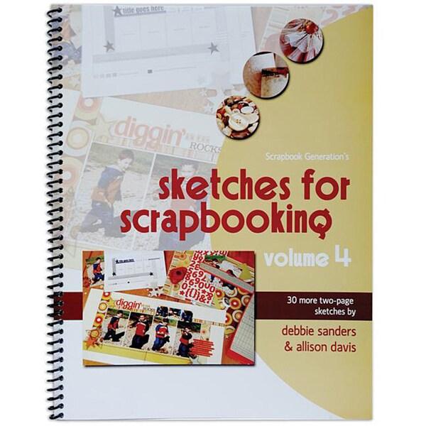 Scrapbook Generation Sketches For Scrapbooking Volume 4