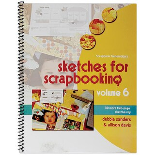 Scrapbook Generation Sketches For Scrapbooking Volume 6