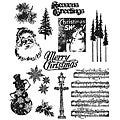 Tim Holtz 'Mini Holidays #2' Rubber Stamp Set