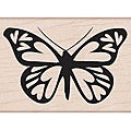 Hero Arts 'Heart Winged Butterfly' Wooden Stamp