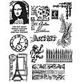Tim Holtz 'Mini Classics' Rubber Stamp Set