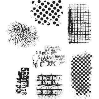 Tim Holtz 'Ultimate Grunge' Rubber Stamp Set