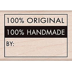 Hero Arts '100-percent Original' Wood Mounted Rubber Stamp