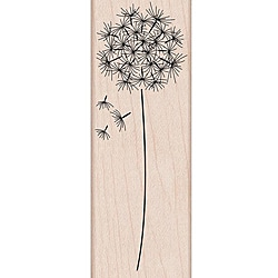 Hero Arts 'Dandelion' Wooden Stamp