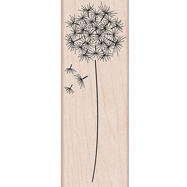 Hero Arts 'Dandelion' Wooden Stamp 7593881