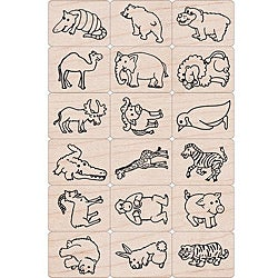 Hero Arts 'Fun Animals' Ink 'n Stamp Tub