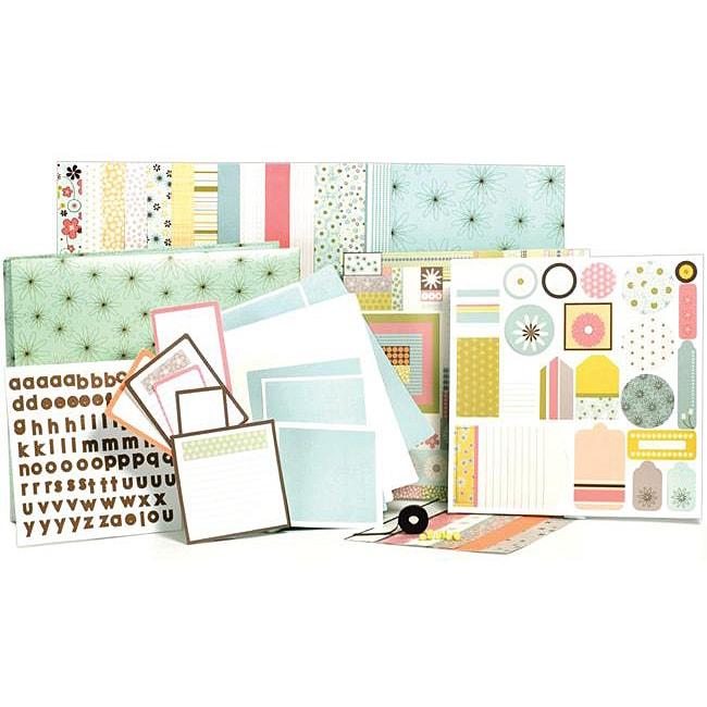 Clarabelle 1-hour Album Scrapbook Kit