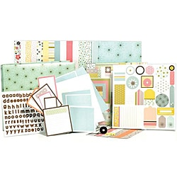 Clarabelle 1-hour Album Scrapbook Kit