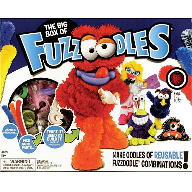 Fuzzoodles Big Box Assorted Activity Kit