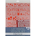Blue Hills Studio 'Clean Curves' Lettering Stencil 4-piece Set