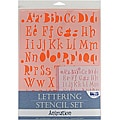 Blue Hills Studio 'Animation' Lettering Stencil 4-piece Set