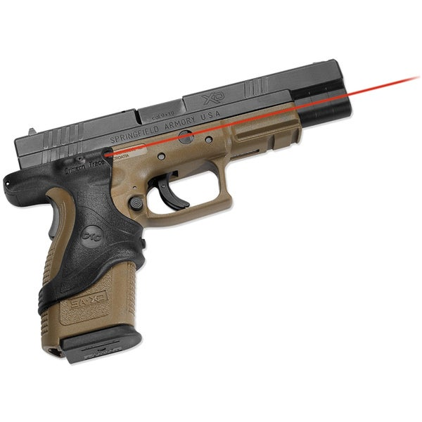Crimson Trace Springfield XD (9mm-.45GAP) Polymer Overmold Laser Grip