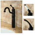 Heritage Oil Rubbed Bronze Vessel Faucet