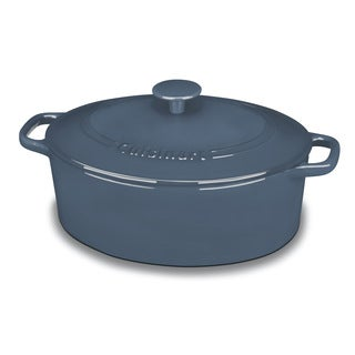 Cuisinart 5.5-quart Chef's Classic Oval Covered Casserole Cookware
