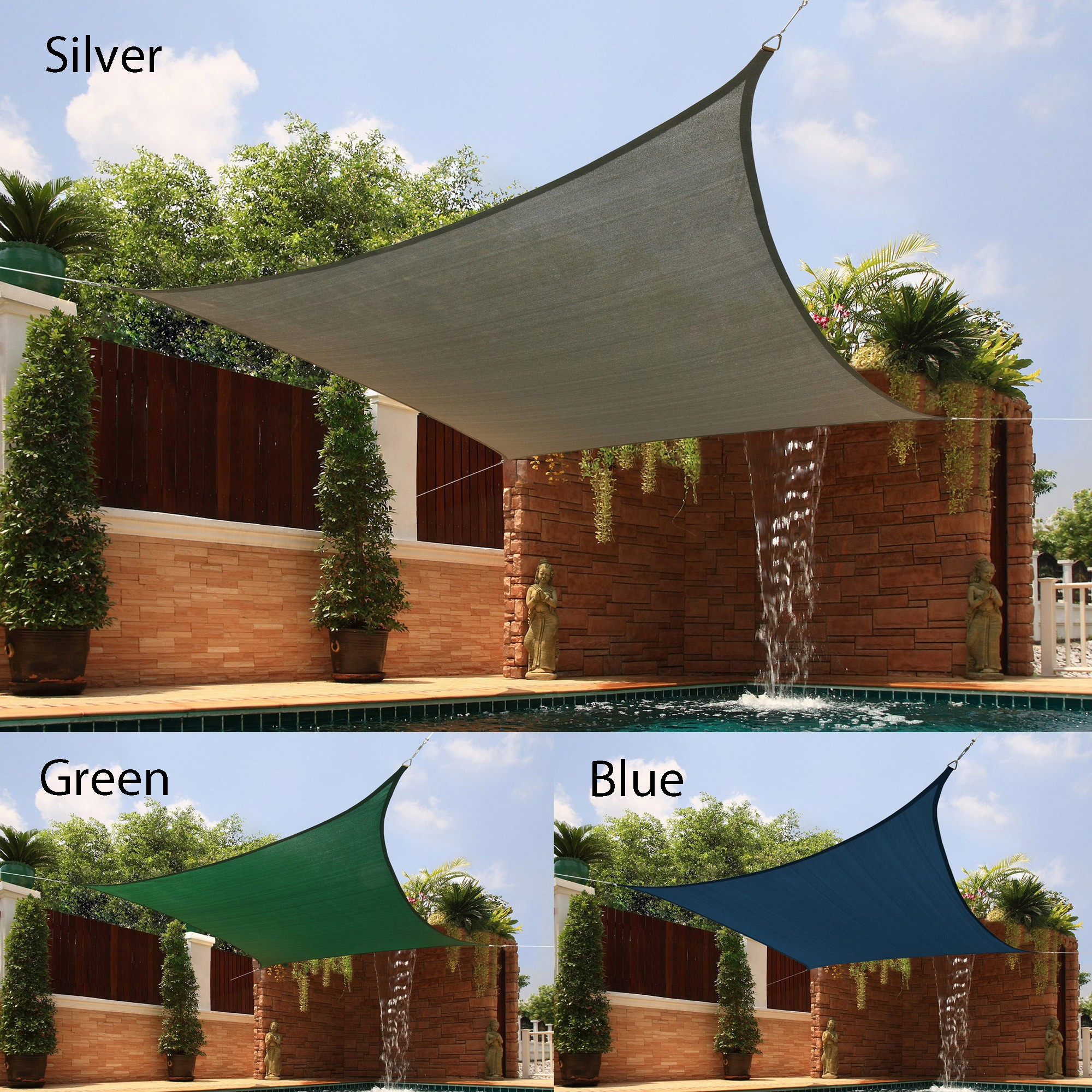 Awesome Backyard Shade Sail