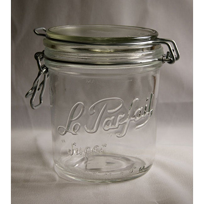 Le Parfait 17.5-oz Canning Jars (Pack of 3)