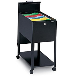 Mayline Mobilizers Heavy-gauge Steel Letter-sized Wheeled File Cabinet